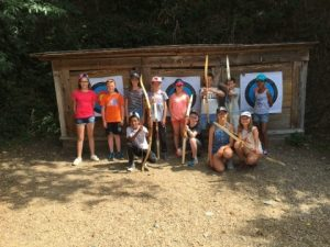 PRES ADOS 10-13 ANS camp été 2016 tir à l'arc